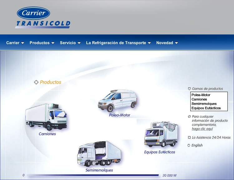 Equipamiento Carrier Transicold
